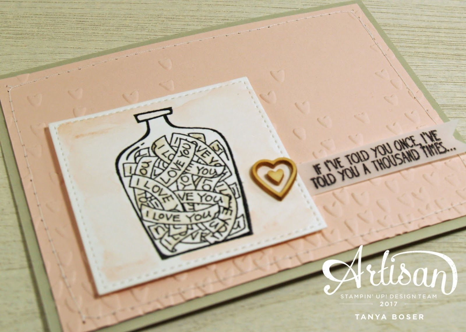 Day 2 of the Artisan Display Stampers Blog Hop is here! I can't wait to see what the other ladies have created 😁        This time I am ...