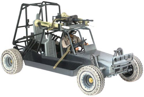 Amazon.com: GI Joe Chenowth Desert Light Strike Vehicle with ...