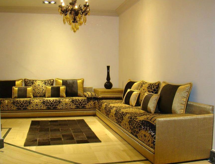 Awesome Salon Marocain Moderne Deluxe Pictures - Amazing ...