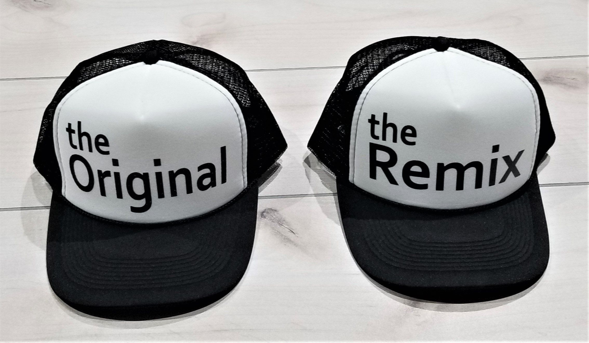 The Original and The Remix Hat Set 84838ff0572