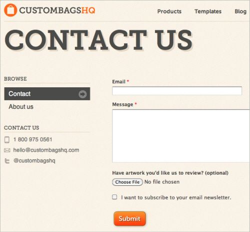 Useful Ideas And Guidelines For Good Web Form Design  Form Design