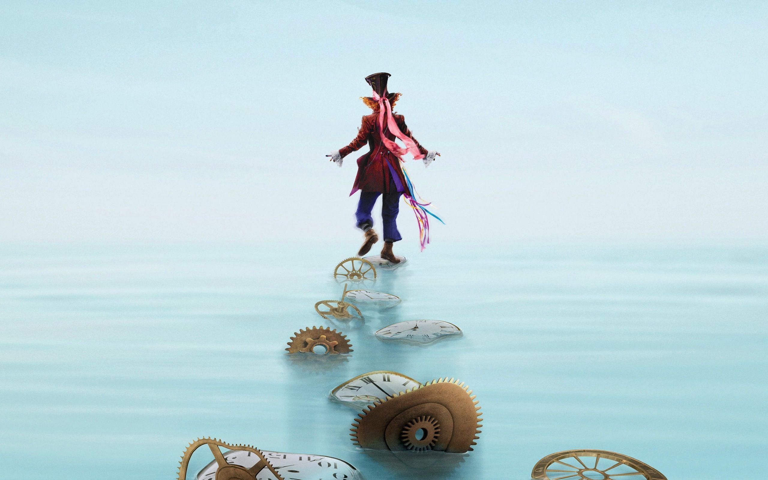 Mad Hatter Wallpaper Alice In Wonderland Poster Alice In
