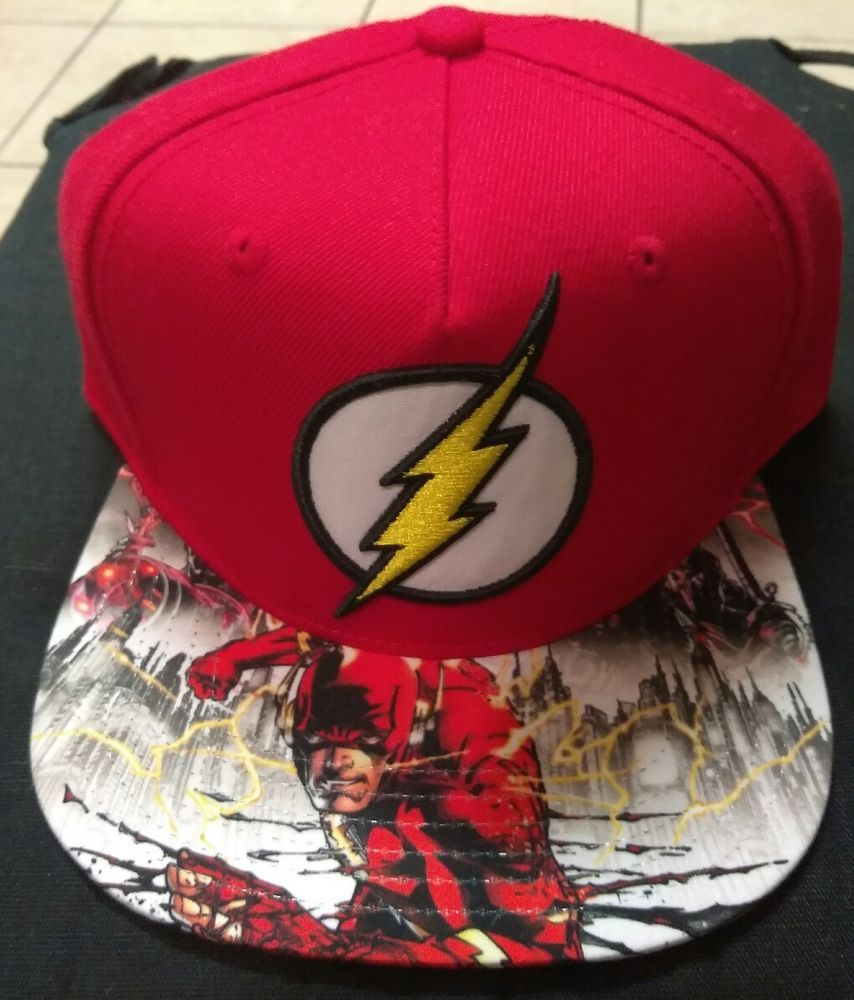 e2368883 THE FLASH Justice LEAGUE JLA movie TV Comic Book art MEN'S New SNAPBACK HAT  Cap #BIOWORLD #BASEBALLHAT. Find this Pin and more on DC Comics Caps ...