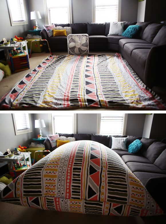 Fort time! THIS. IS. AWESOME.