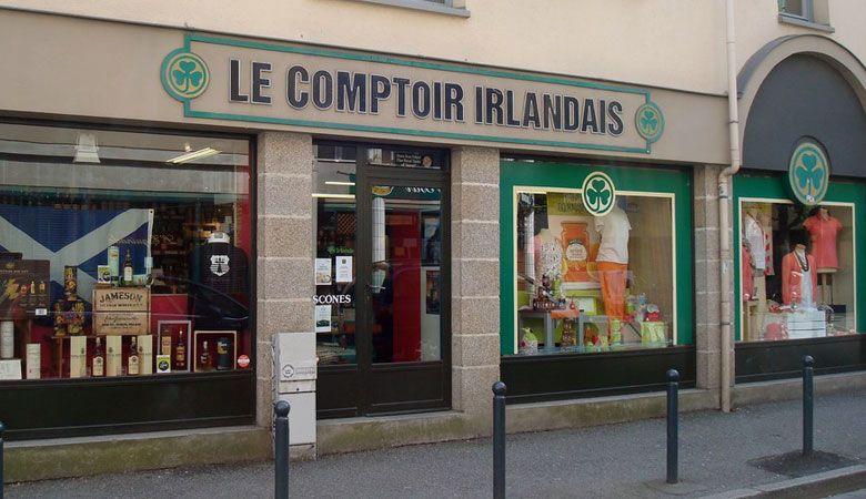Le Comptoir Irlandais De Rennes Comptoir Irlandais Irlandais Magasin Rennes