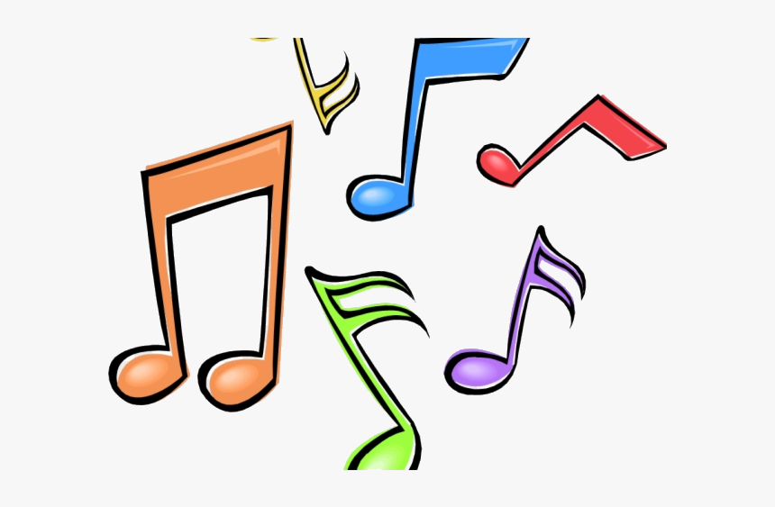 Note Music Clipart Colorful Notes Transparent Png Color Music Notes Clip Art Png Download Is Free Transpare Music Notes Drawing Music Clipart Music Coloring