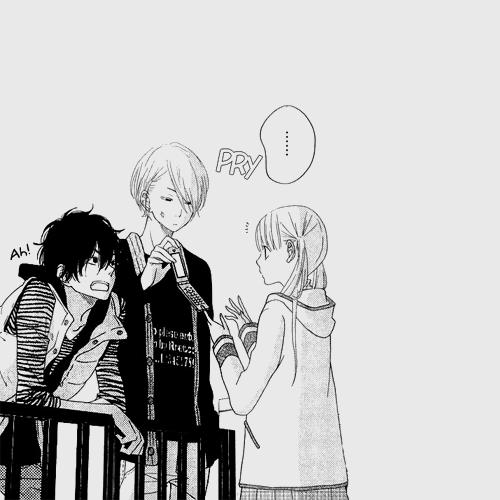 Tonari no Kaibutsu-kun | Haru, Yamaken & Shizuku