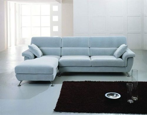 Wool Tables Light Blue Sectional Sofa