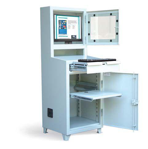 Flat Screen Industrial Computer Cabinet