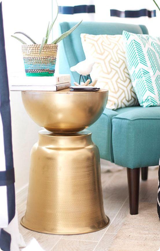 diy furniture west elm knock. DIY Home Decor | West Elm Knock Off Side Table ~ Grab A Few Items From Diy Furniture U
