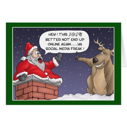 Holiday Cards Online >> Funny Christmas Cards Online Post Holiday Card Zazzle Com