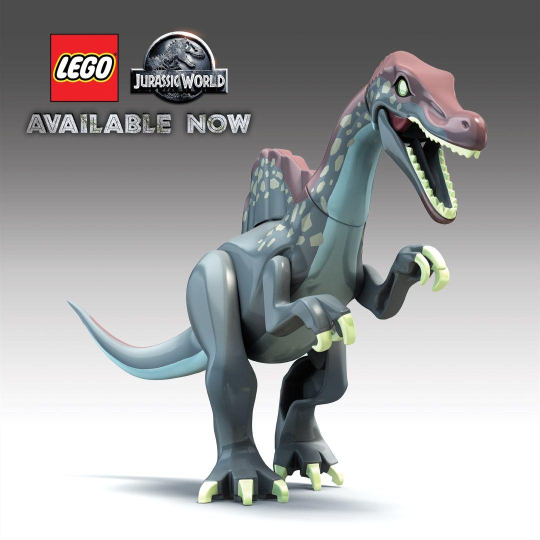 Pin by sp dino editor on jurassic park world lego jurassic park lego jurassic lego - Lego dinosaurs spinosaurus ...