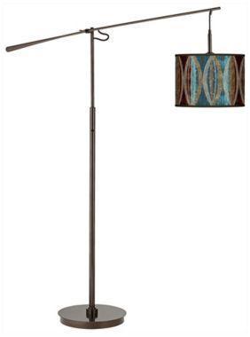 SG Pearl Leaf Peacock 10-Inch-H Balance Arm Floor Lamp | Stuff for ...