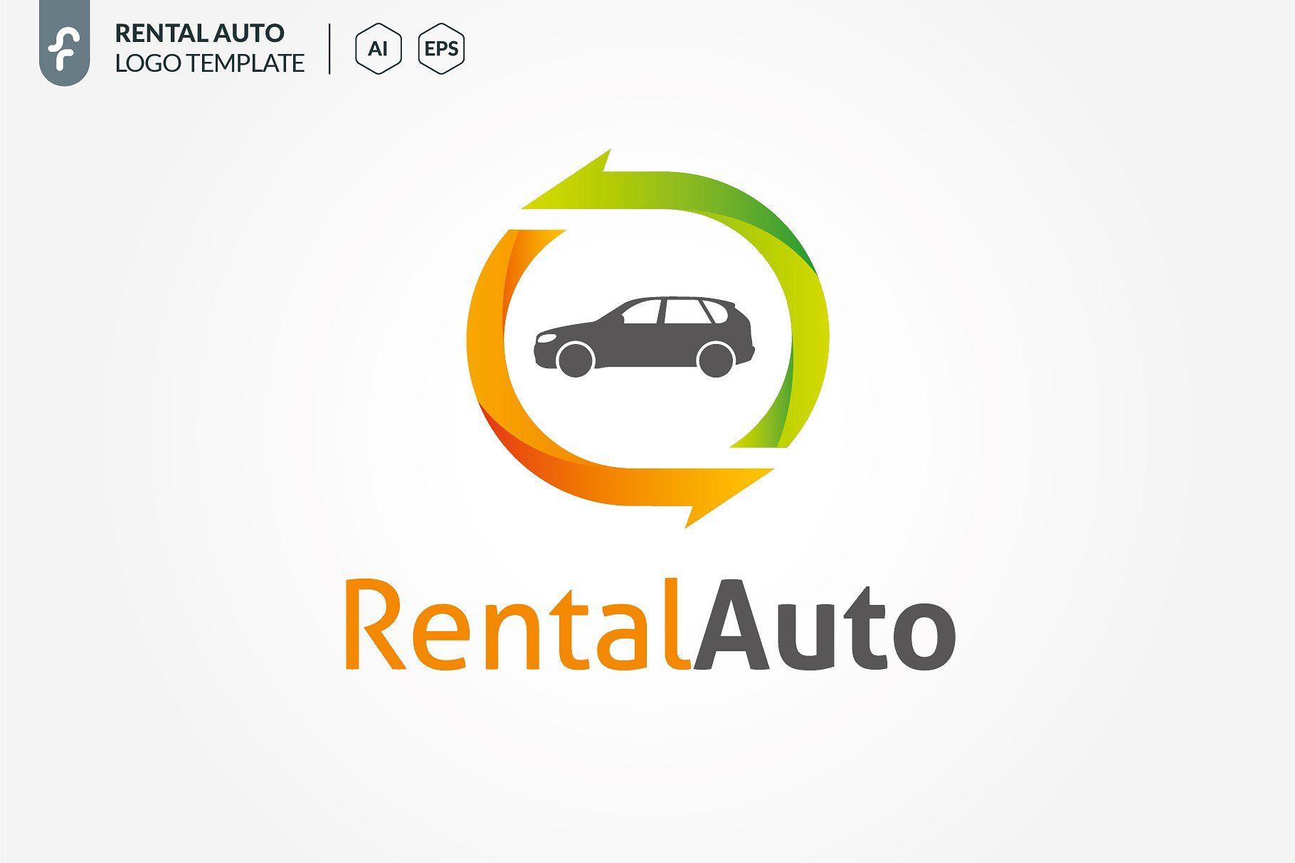 Rental auto logo autorentaltemplateslogo