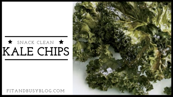 Kale Chips!  A superfood solution to your crunchy craving :) #fit #healthy #busy