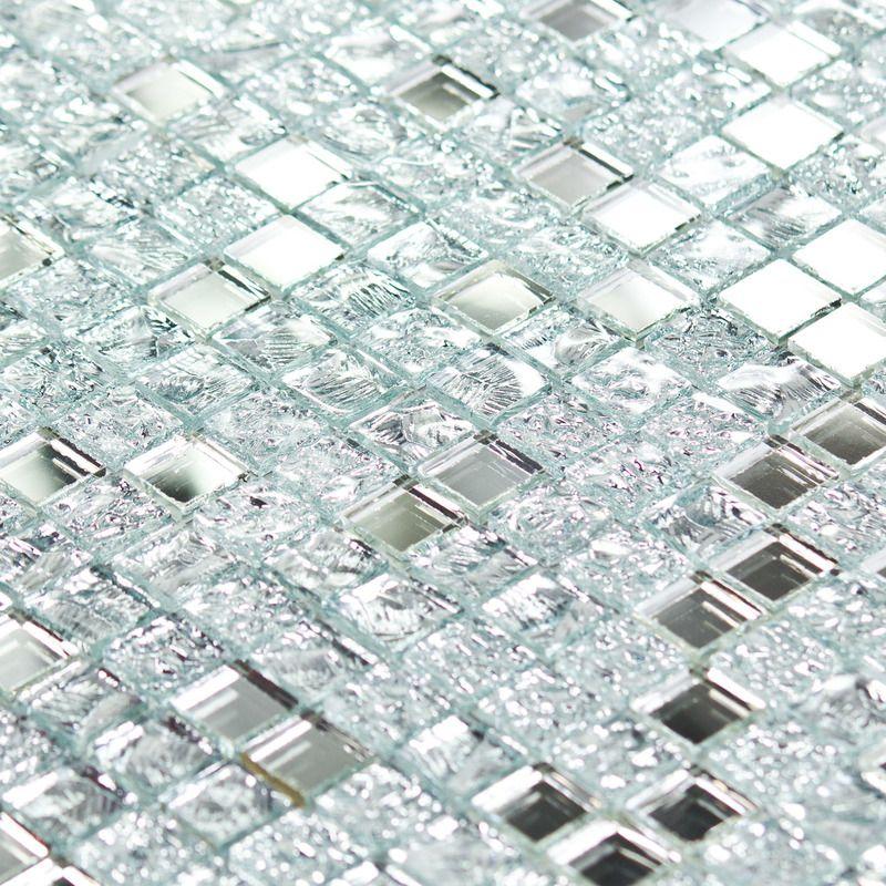 Mosaïque pâte de verre Luxe Glass - Tarif à la plaque de 0,09m²