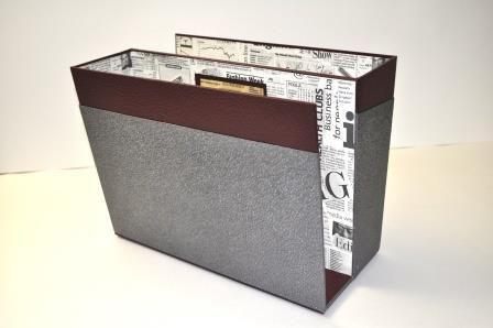 la fiche technique du porte revues l 39 art et cr ation cajas decorativas. Black Bedroom Furniture Sets. Home Design Ideas