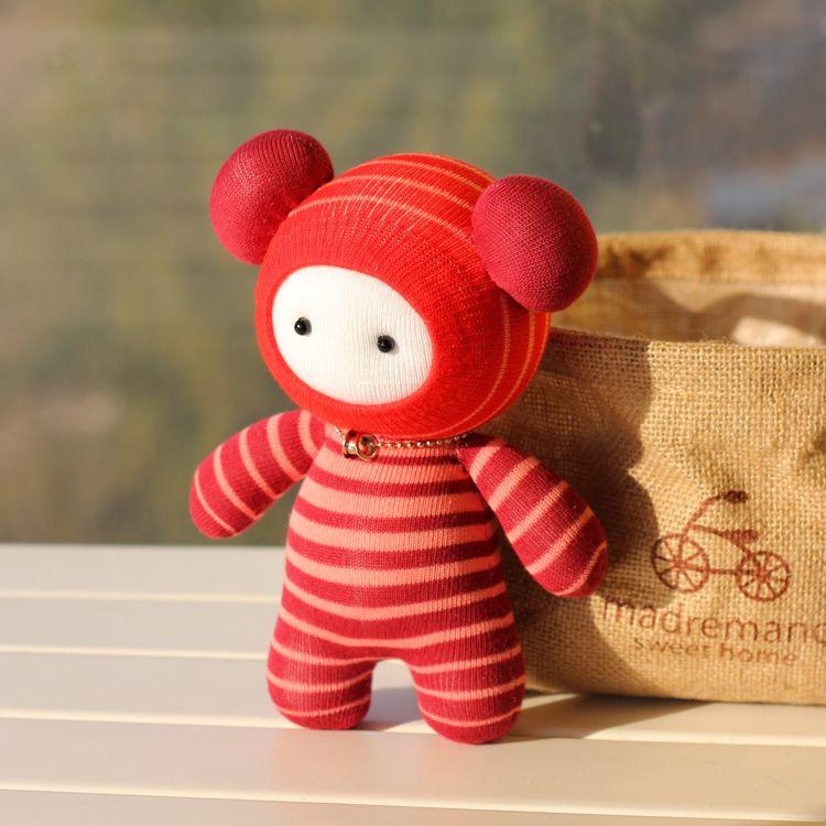 Cute DIY Sock Dolls Height 20cm | DIY Craft | Sock monster