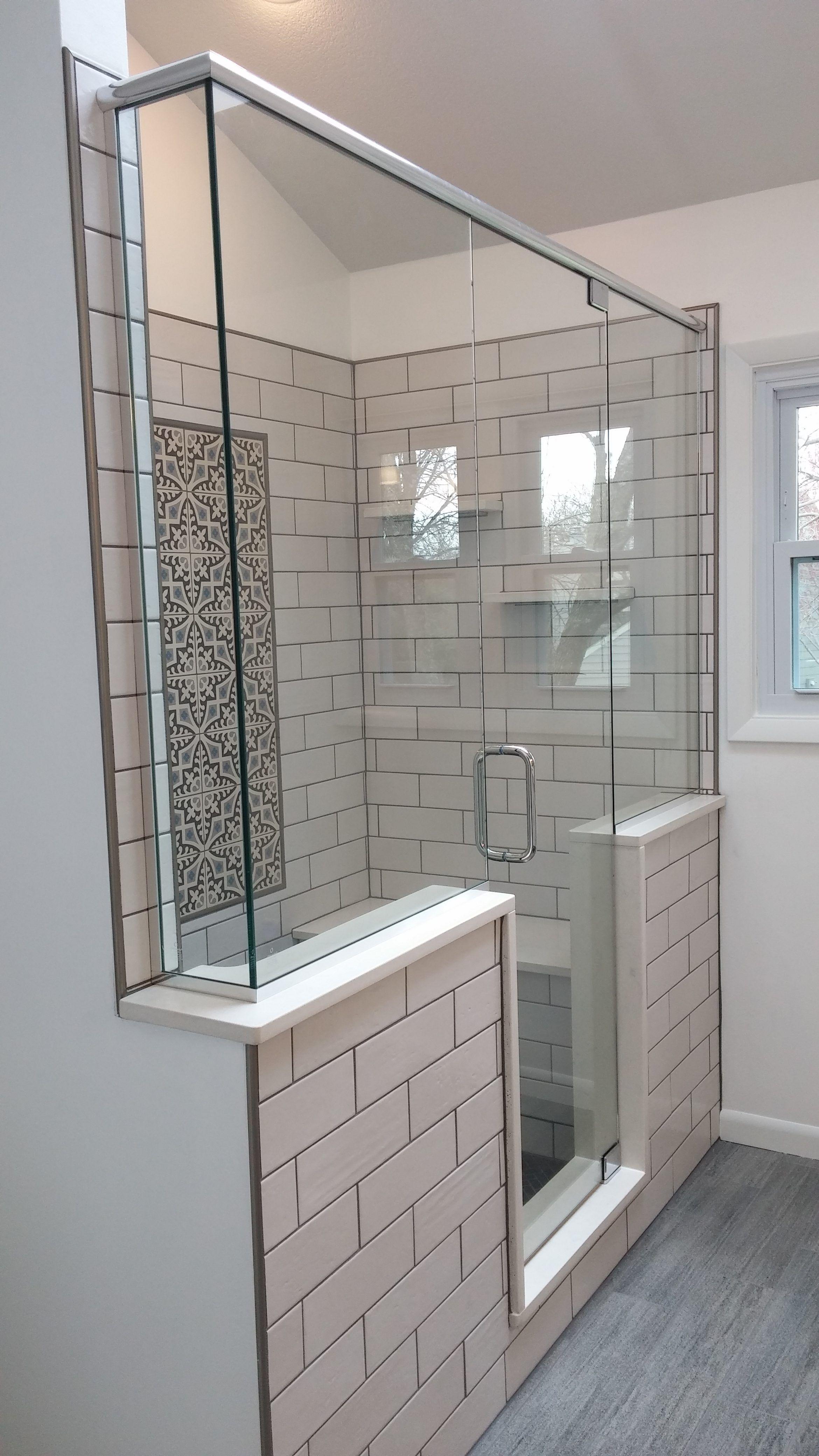 Walk In Shower Bathroom Remodel Des Moines Sassman Glass And - Bathroom remodel des moines for bathroom decor ideas