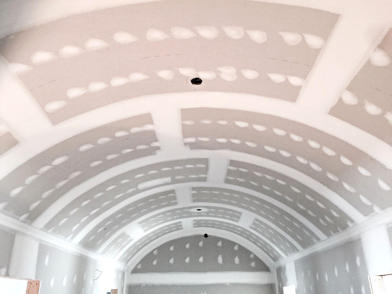 barrel ceiling barrel ceiling residential drywall repair on dry wall id=36145