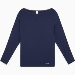 Photo of Calvin Klein Langarm Lounge T-Shirt – Liquid Touch Xs Calvin KleinCalvin Klein
