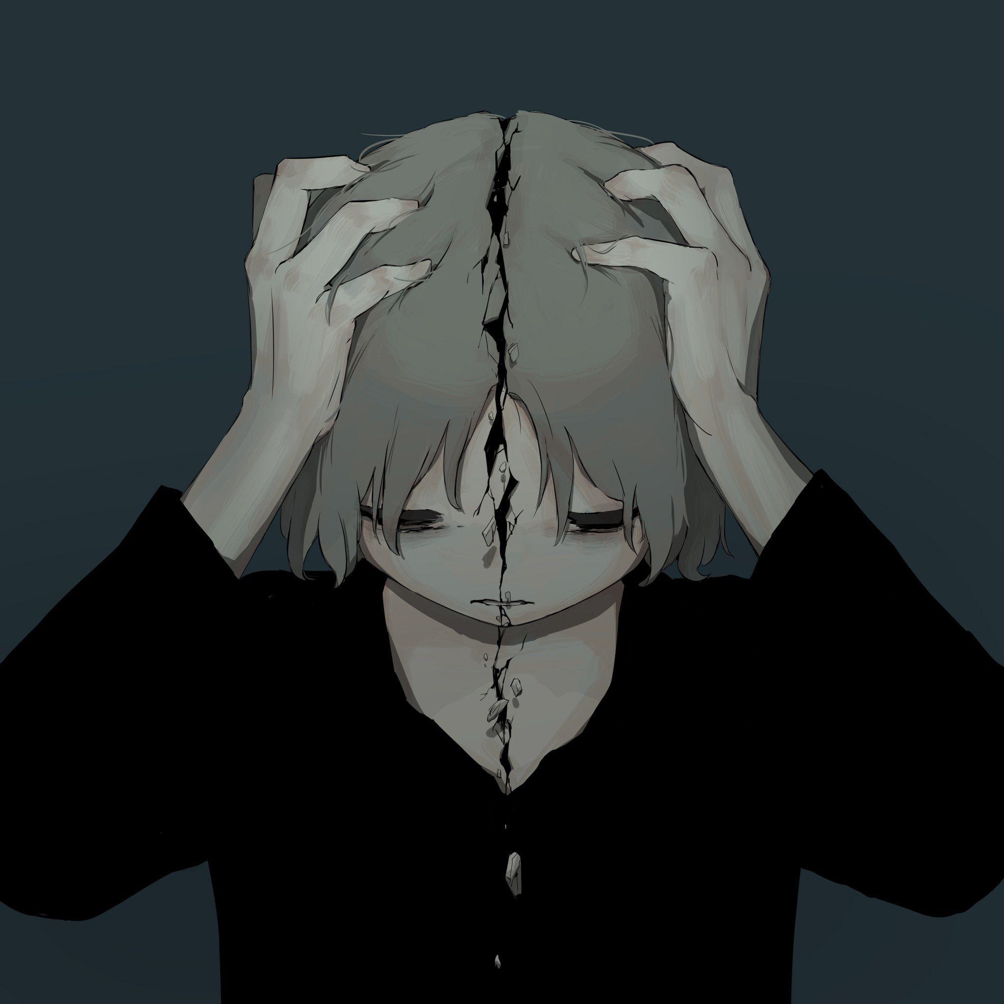 I M Broken Ilustrasi Ilustrasi Karakter Gambar Simpel