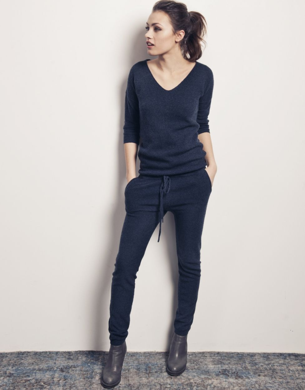 night blue Linde jumpsuit | Moscow online store | Style ...