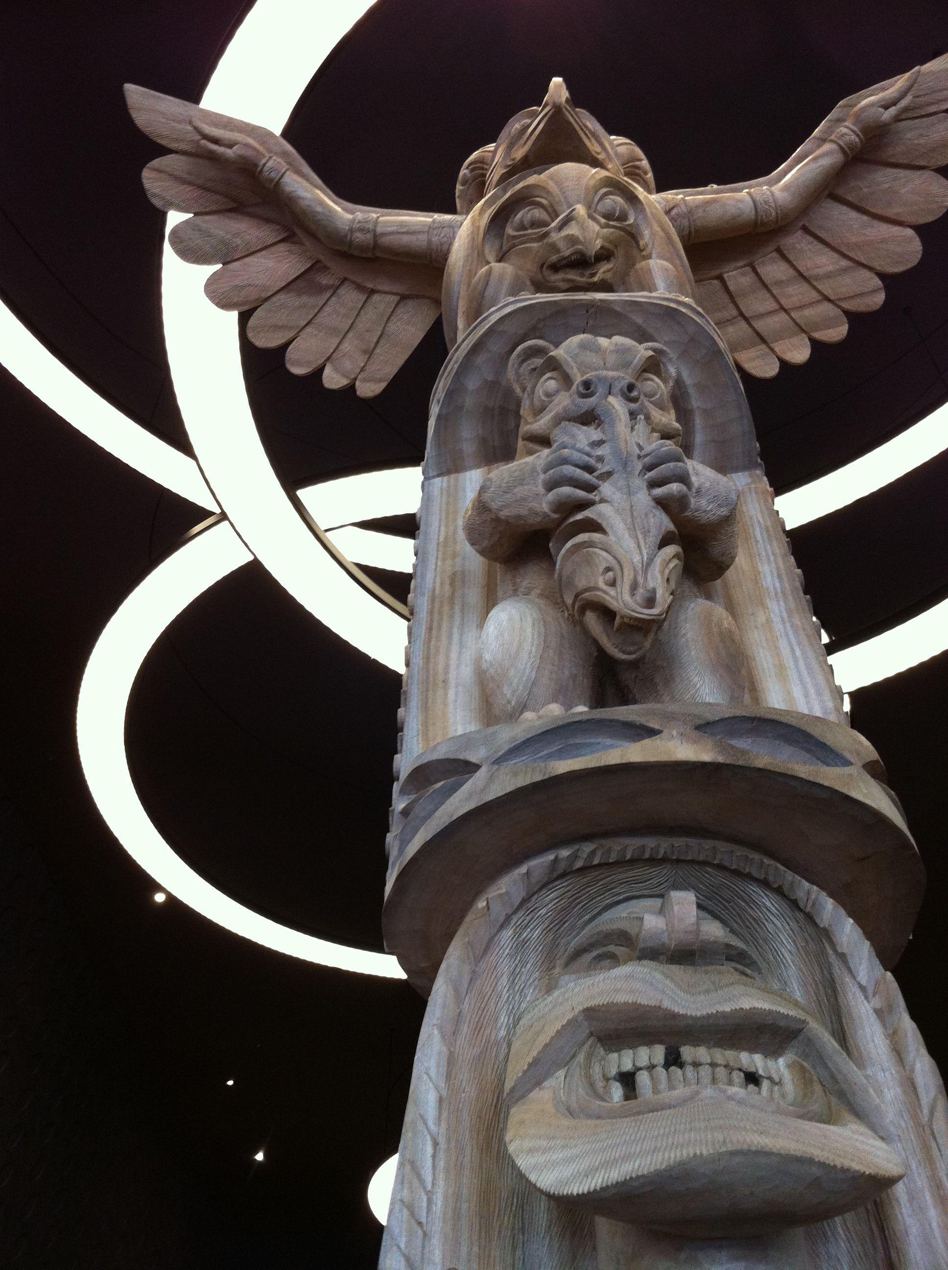 Ainu Totem Pole Bepassersby Sursum Corda Pinterest Japan