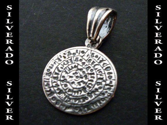 Sterling Silver 925 Ancient Greek Phaistos by SilveradoJewellery, €13.00