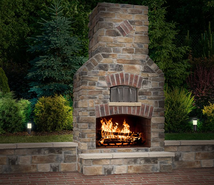 Charming Outdoor Fireplaces U0026 Pizza Ovens | Photo Gallery