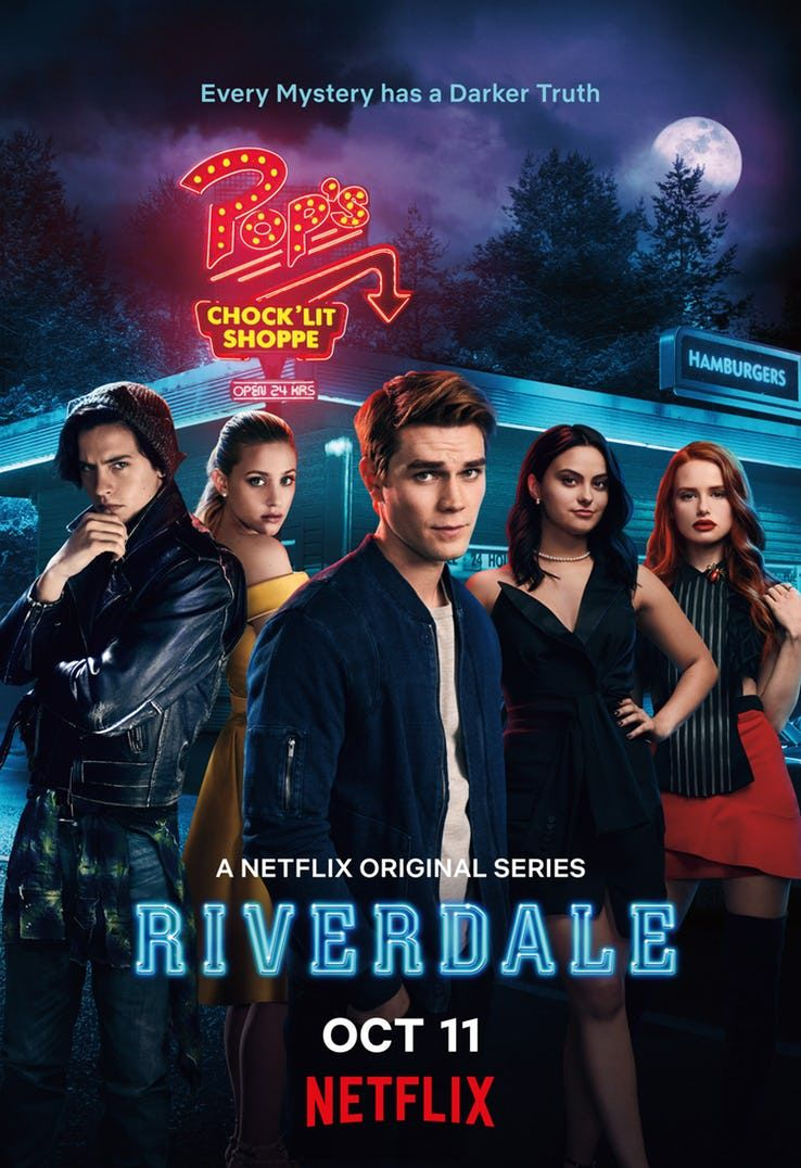 Geek News New Riverdale Season 3 Poster Features A Photo Of The Cast Of The Cw S Series Riverdale Cw Riverdale Poster Riverdale Riverdale Netflix