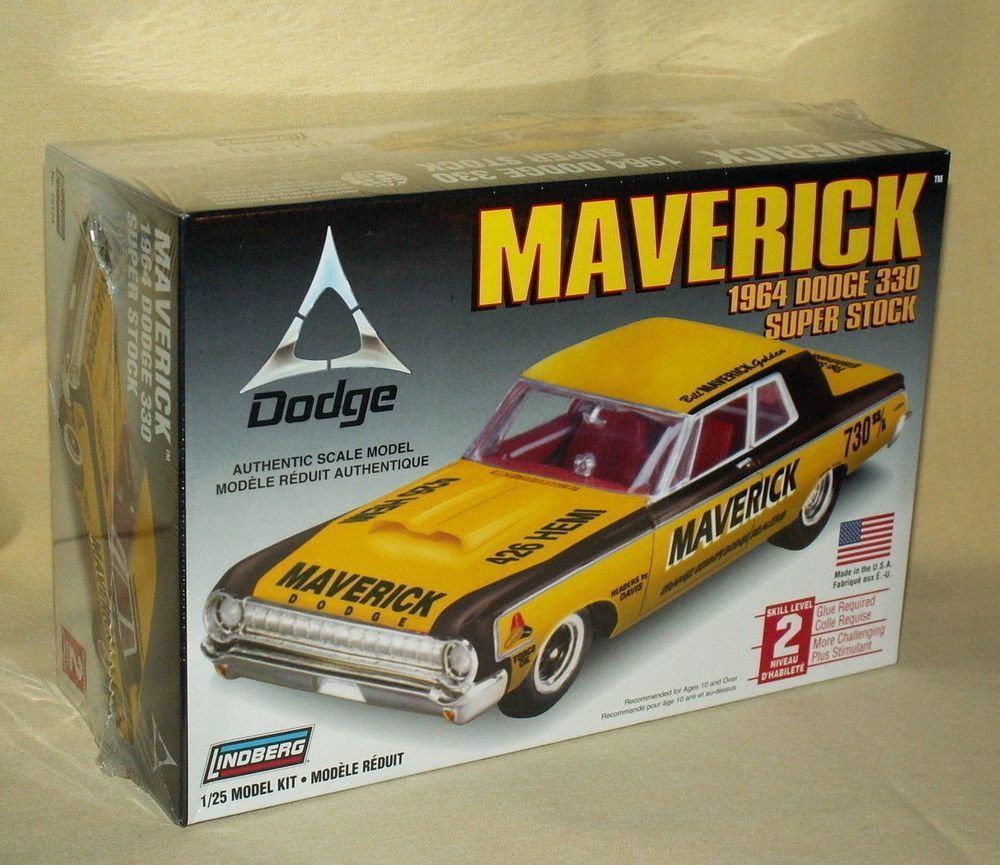 DODGE 330 1964 MODEL MAVERICK SUPER STOCK LINDBERG NEW