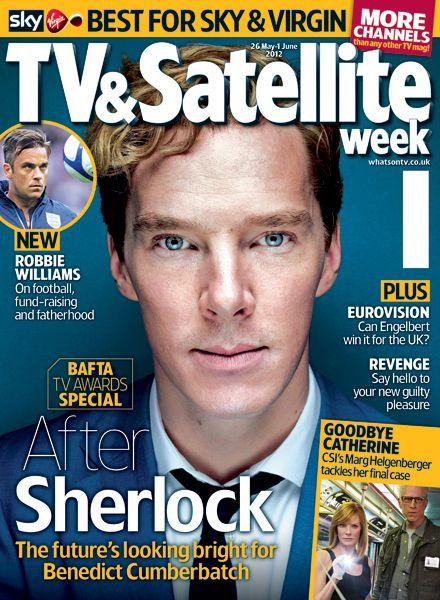 Benedict Cumberbatch Cover Tv Satellite Week 26 May 1 June 2012 Benedict Cumberbatch Tv Guide Tv Awards