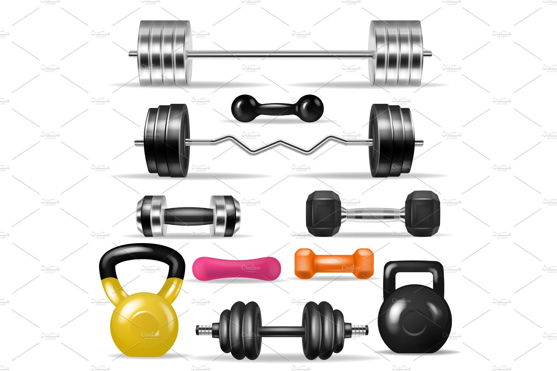 Dumbbell Vector Fitness Gym Weight Gym Weights Gym Workouts Weights Dumbbells