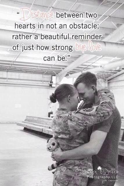 Just How Strong We Can Be Military Love Military Quotes