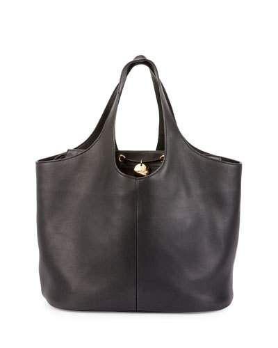 Tom Ford Miranda Medium Tote Bag With Pouch Black