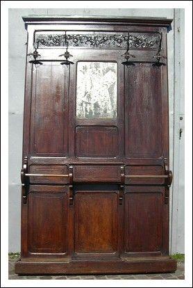 attaccapanni da ingresso liberty | Art Nouveau | Pinterest