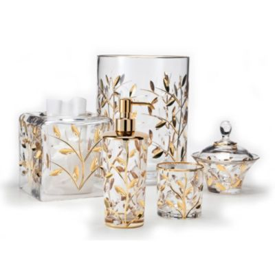 Labrazel Crystal Vine Bath Collection Gold Bathroom Accessories