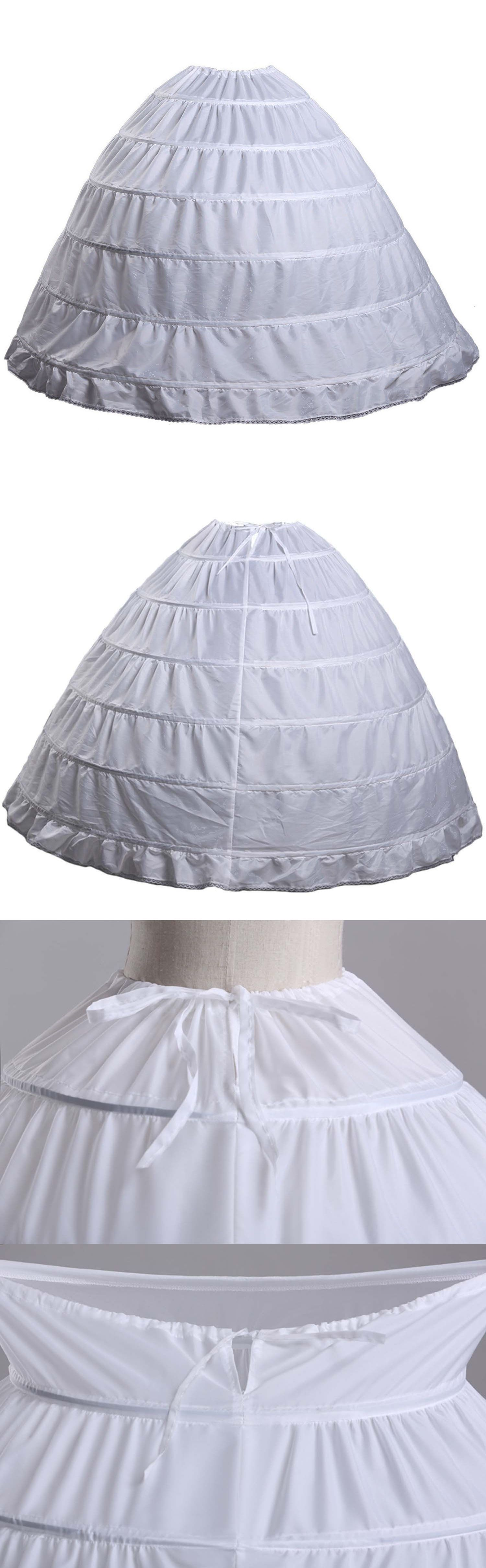 Slips Petticoats and Hoops 98745: Fanhao Hoop Skirt Wedding Dress ...
