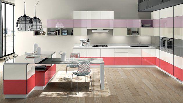 Decoración de cocinas modernas – La combinación de colores | Cocina ...