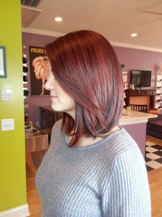 Pin By Elizabeth Cain On Locks 4 Days Red Hair Long Bob Hair Down Styles Long Bob Hairstyles
