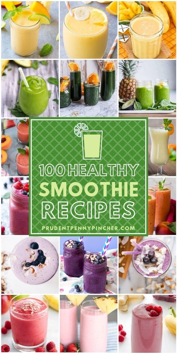 100 Healthy Smoothie Recipes images