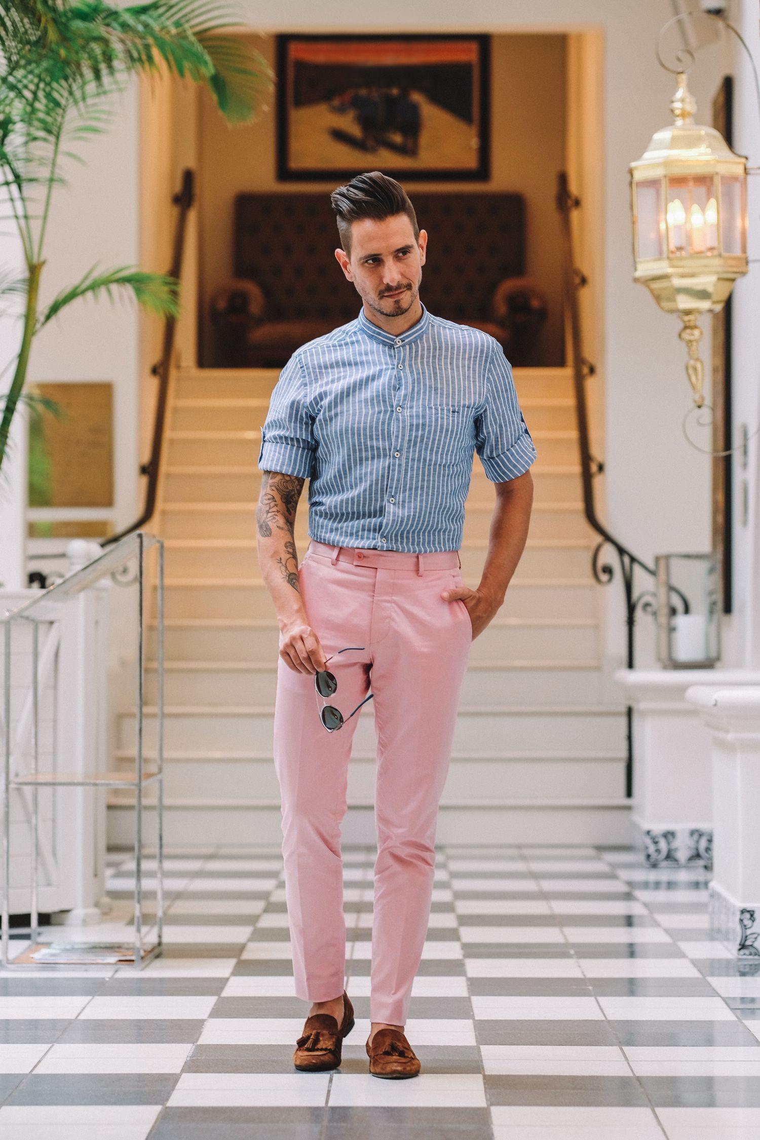 44++ Pink button up shirt mens ideas info