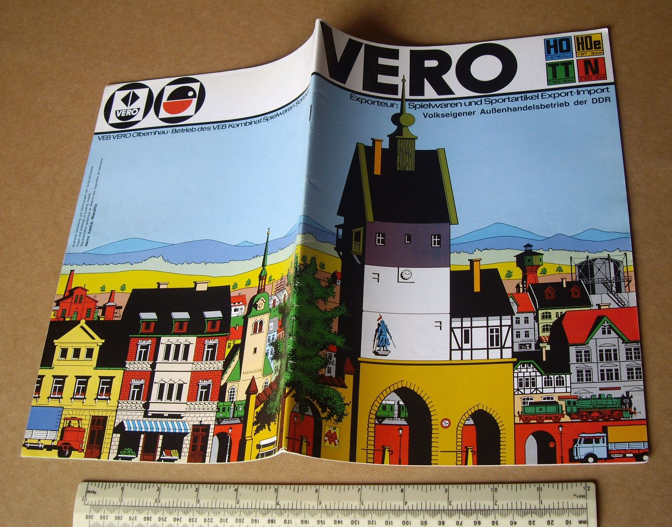 #1980s vero #model railway kit catalogue ddr #germany. very fine & high quality,  View more on the LINK: 	http://www.zeppy.io/product/gb/2/182193731288/