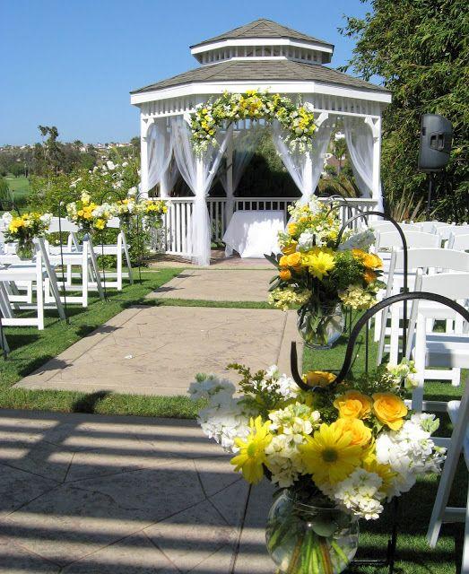 El Camino Country Club Gazebo Wedding In San Go Get Married Oceanside