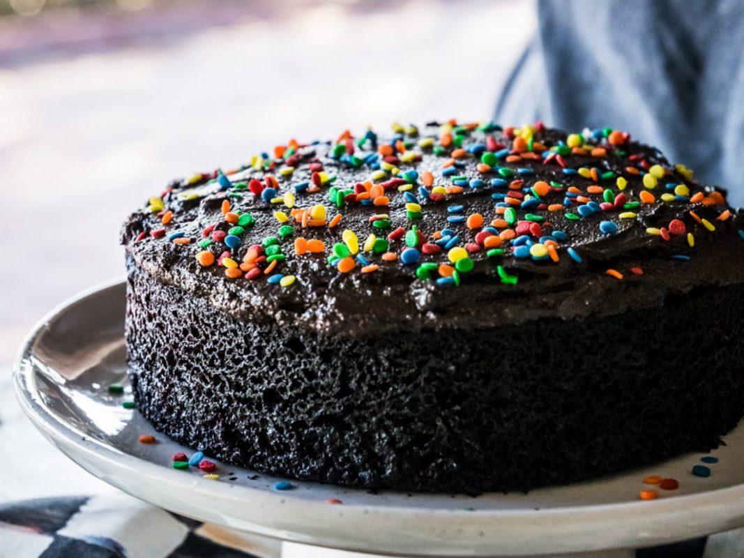 Triple Chocolate Brownie Cake | Recipe | Chocolate brownie