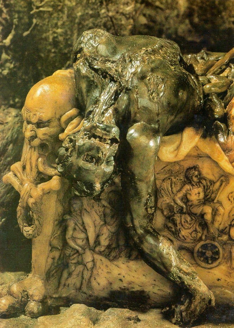 Gaetano Giulio Zumbo (1656–1701) was an Italian sculptor in wax or wax modeller of the Baroque era.