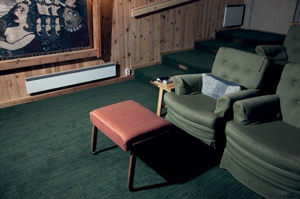 Bergman S Armchair At His Private Cinema Room In Faro On The Wall