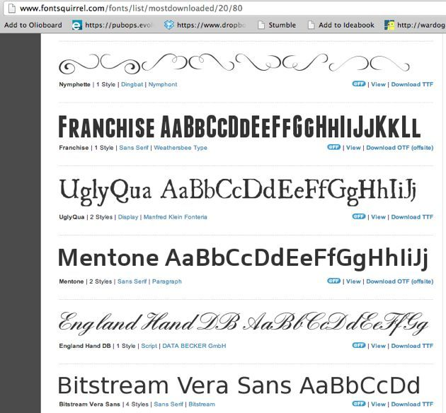 Photoshop Font For Mac
