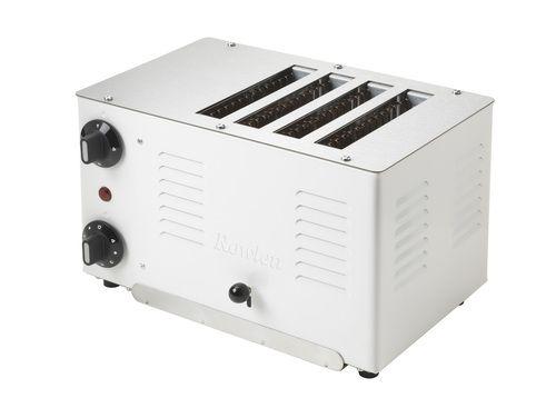 Rowlett Rutland White Retro Regent 4 Slice Toaster